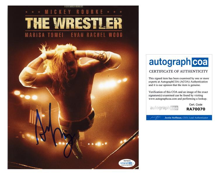 "2019 Nieuwe Stijl Darren Aronofsky ""the Wrestler"" Director Autograph Signed 8x10 Photo Acoa"